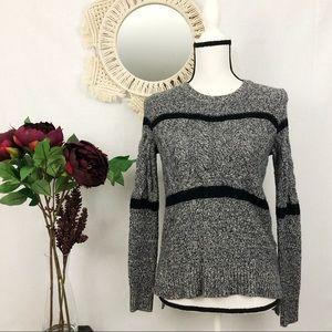 Madewell marled knit sweater XS